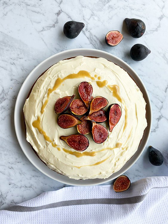 Carrot,-fig-and-honey-cake-with-a-lime-cream-cheese-frosting