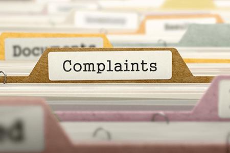 Complaints-folder-listing