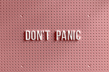 Don't-panic-letterboard-sign
