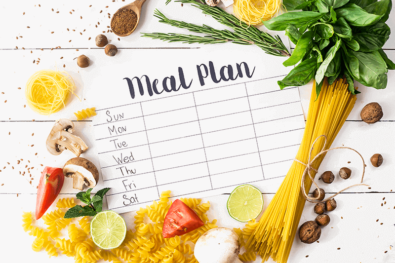 Meal-planner-surrounded-by-fruit-and-vegetables