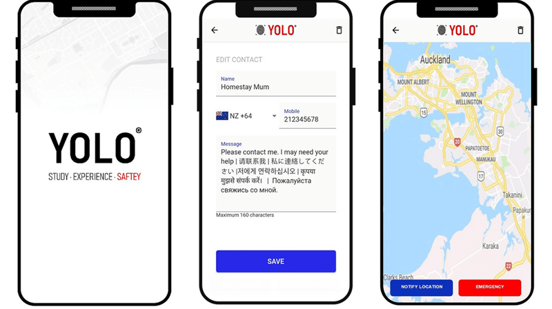 YOLO-app-screenshots