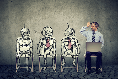 three-robots-and-one-man-at-job-interview-listing